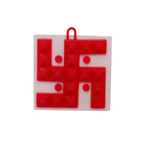 Small Swastik Plate